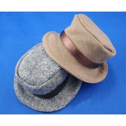 Hat Brown Mini Kio